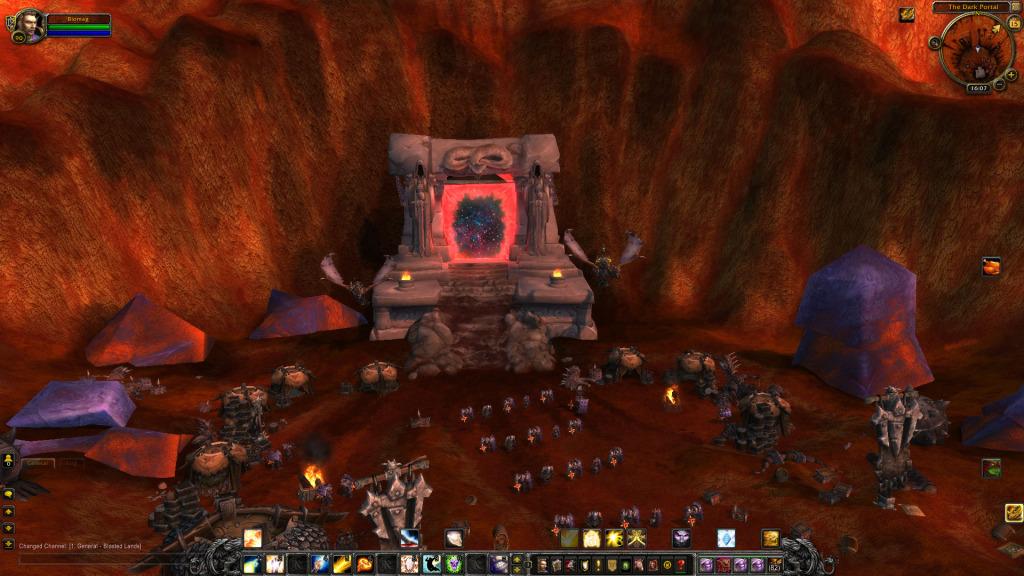 Nový vzhled Dark Portalu po invazi Iron Horde
